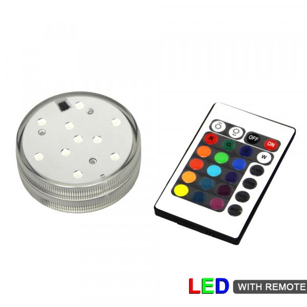 LED Light Base + Remote